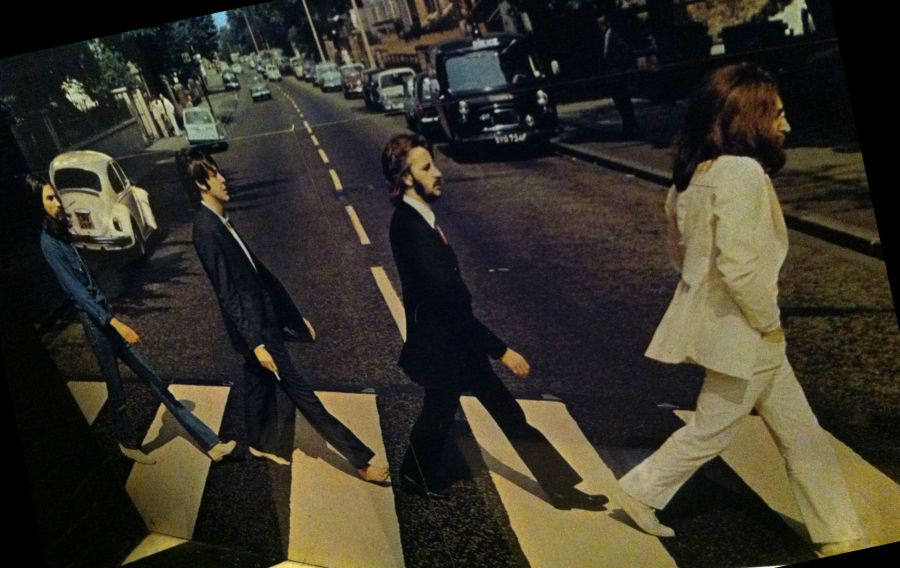 "Das legendäre ""Abbey Road"" Albumcover"