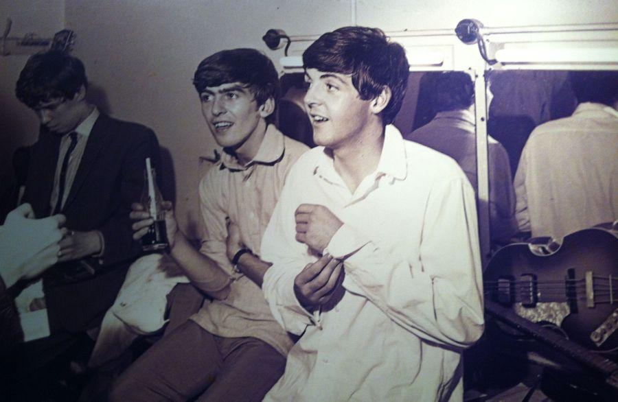 ... George und Paul blutjung ...